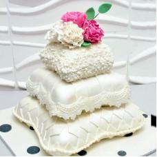 Торт-подушки на свадьбу