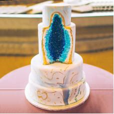 Свадебный торт с жеодой