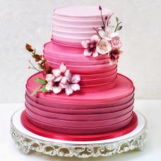 Свадебный торт в стиле омбре