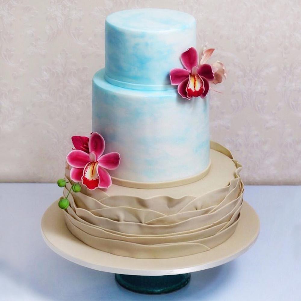 Свадебный торт градиент