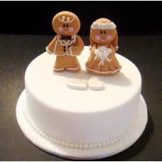 Мини торт на свадьбу с пряниками