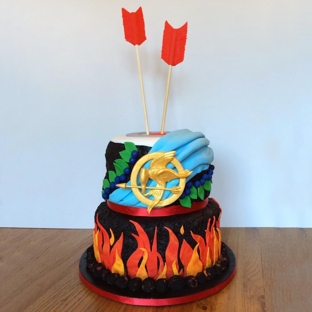 Свадебный торт Сойка-пересмешница