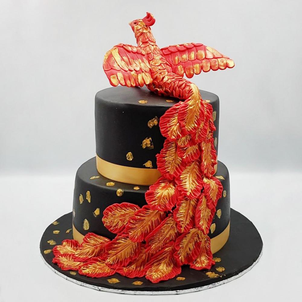 Свадебный торт Феникс