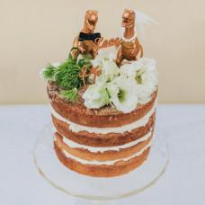 Свадебный торт с тирексами