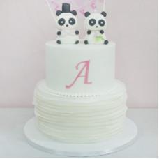 Свадебный торт с пандочками