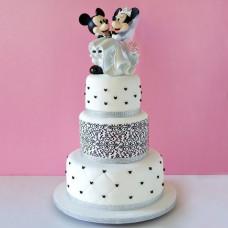 Свадебный торт с мышками