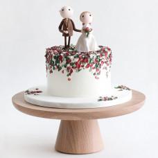 Свадебный торт с супругами