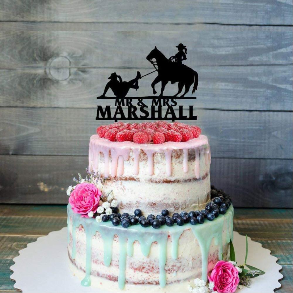 Свадебный торт в стиле Дикий запад