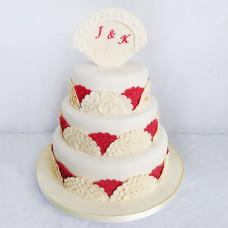 Свадебный торт в испанском стиле