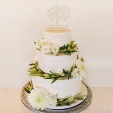 Свадебный торт в греческом стиле