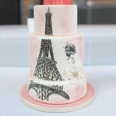 Свадебный торт во Французском стиле