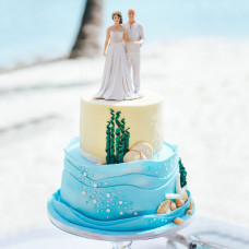 Свадебный торт в Карибском стиле