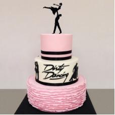 Тематический торт на свадьбу для танцоров