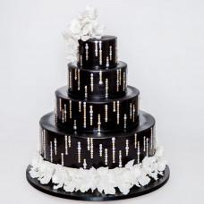 Свадебный торт в стиле диско