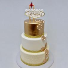 Свадебный торт в стиле Las Vegas