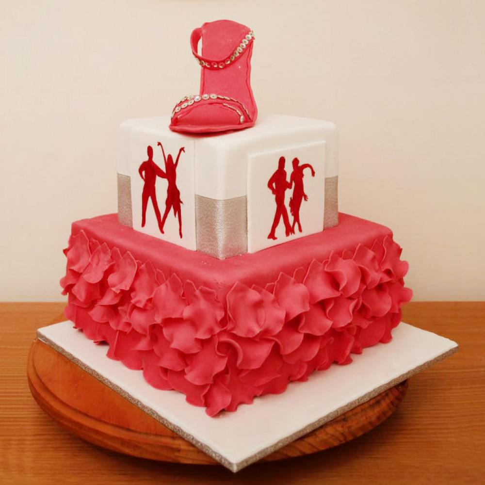 Свадебный торт «Латиноамериканские танцы»