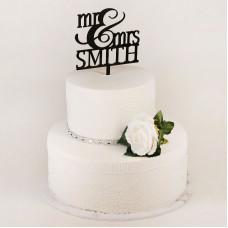 Свадебный торт Мистер и Миссис Смит