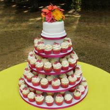 Летний свадебный торт