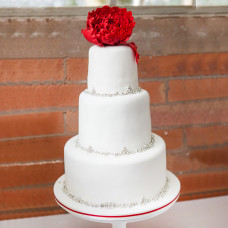 Летний торт на свадьбу