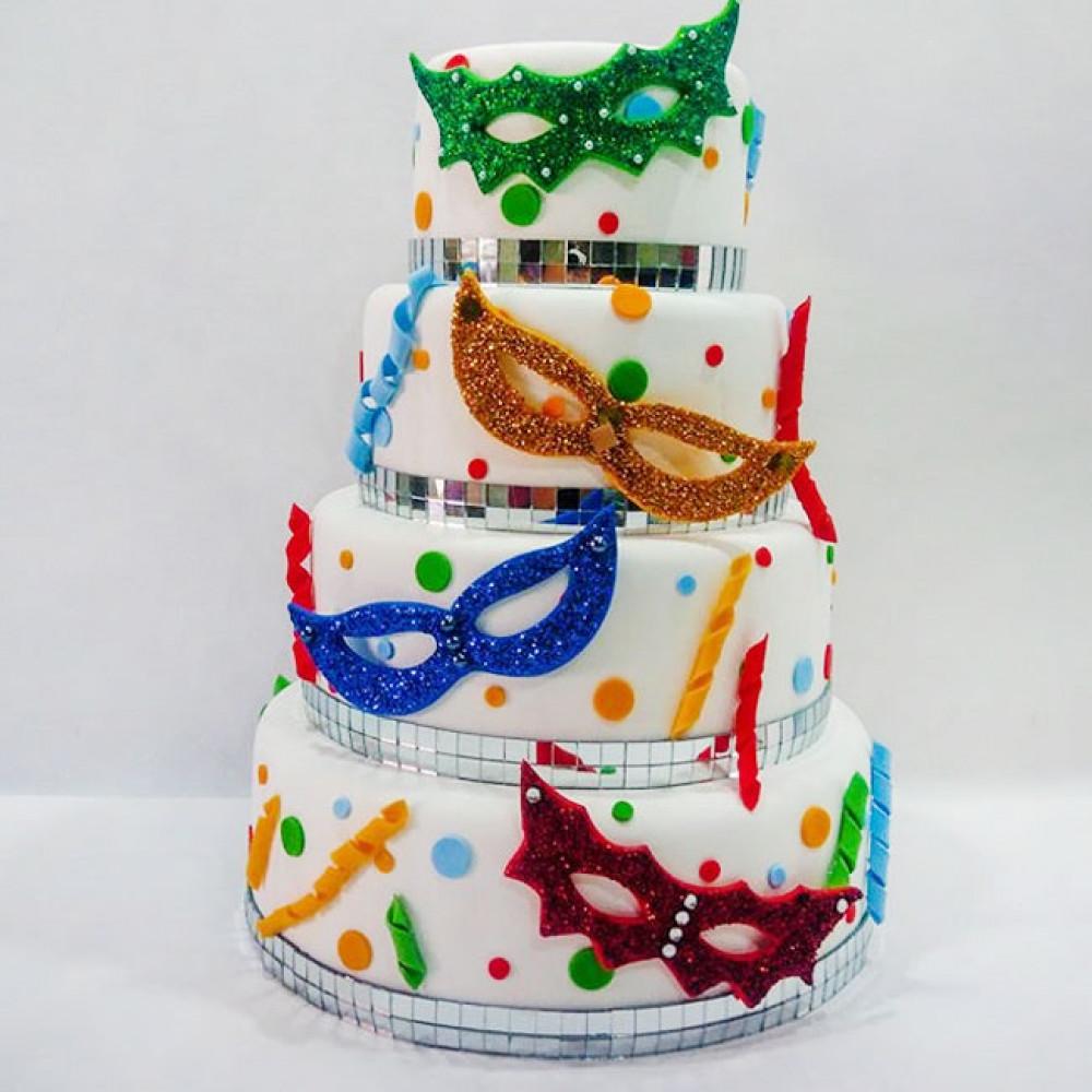 Свадебный торт «Венецианский карнавал»