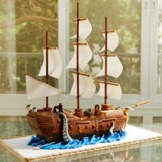 Свадебный торт в пиратском стиле