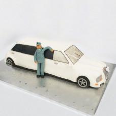 Торт свадебный лимузин