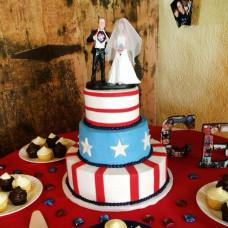 Свадебный торт в Американском стиле