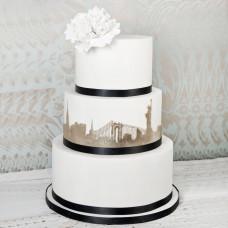 Свадебный торт в стиле Нью-Йорк