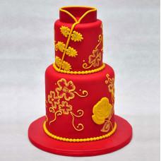 Свадебный торт в восточном стиле