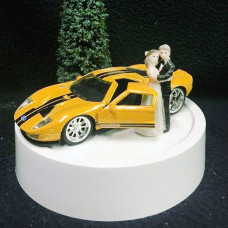 Свадебный торт с машиной