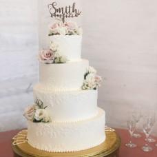 Свадебный торт в современном стиле