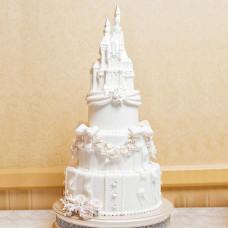 Торт на свадьбу в стиле Золушка