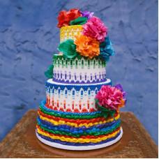 Свадебный торт в Мексиканском стиле