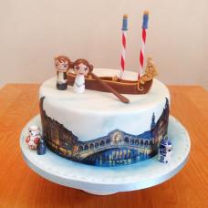 Свадебный торт в венецианском стиле