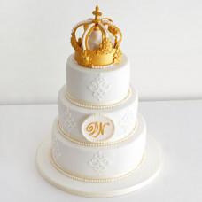 Свадебный торт в царском стиле