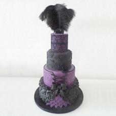 Свадебный торт в стиле бурлеск