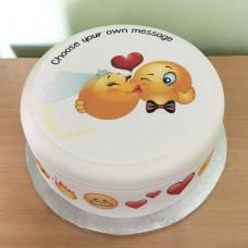 Свадебный торт Смайлики