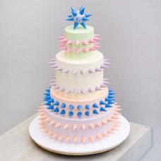 Готический свадебный торт