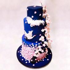 Японский свадебный торт