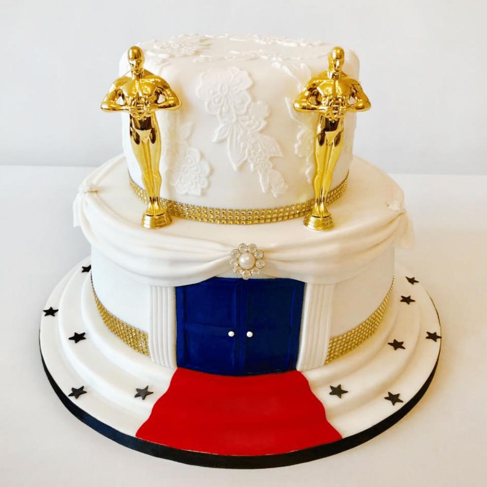 Свадебный торт в стиле Оскар