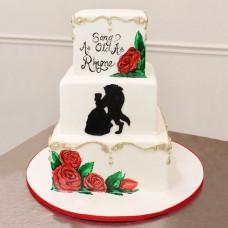 Свадебный торт по мотиву фильма