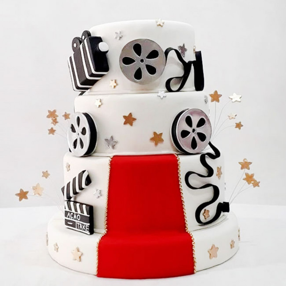 Свадебный торт кинолента