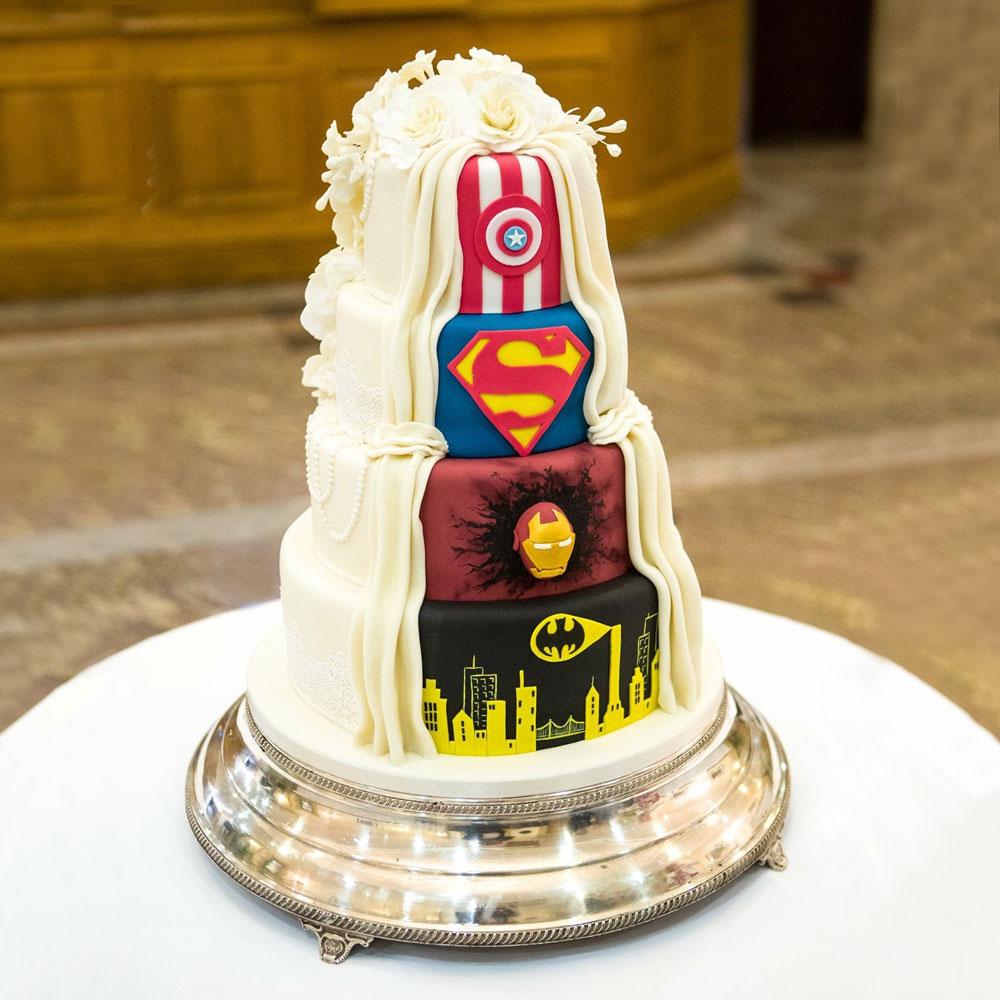 Свадебный торт для киноманов