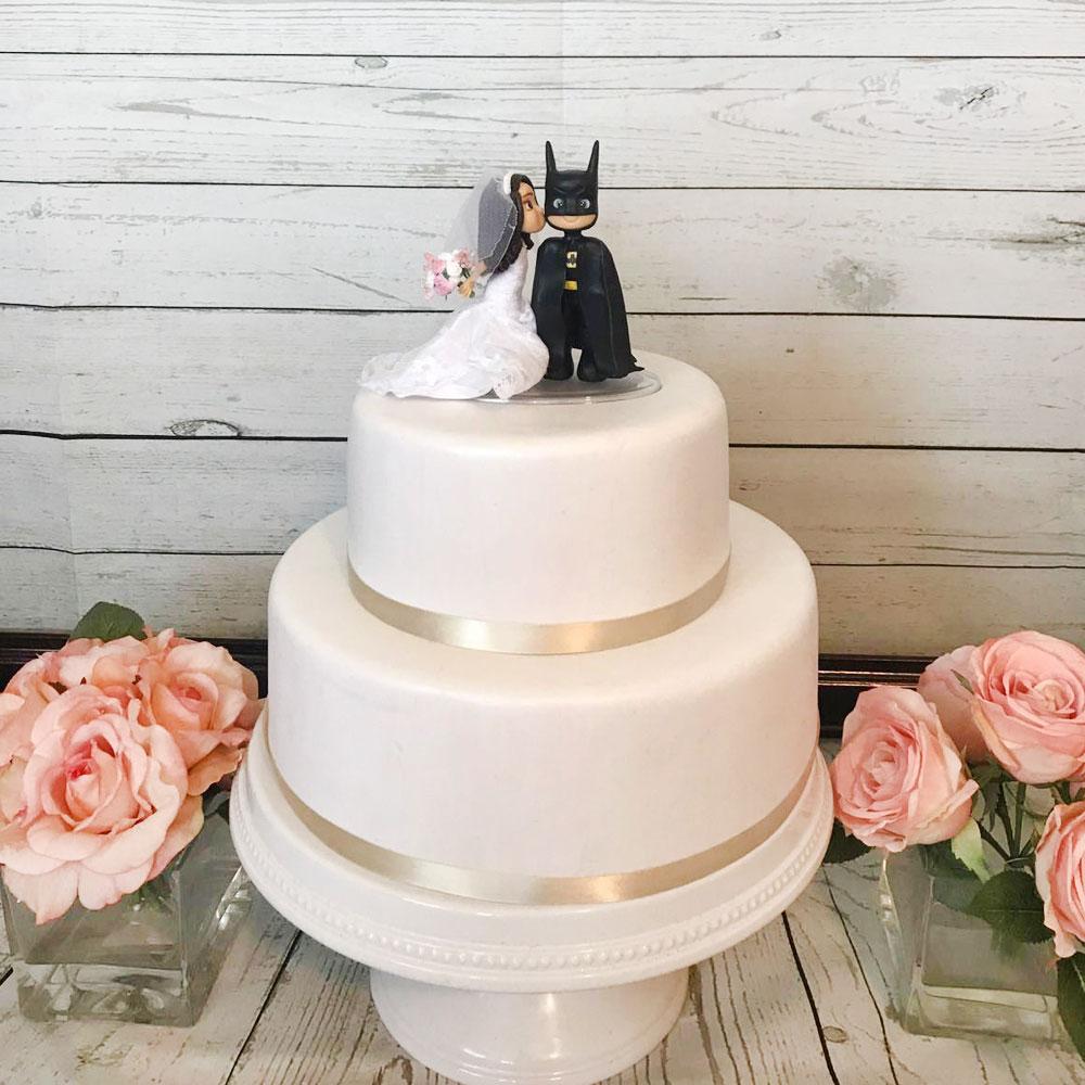 Свадебный торт с киногероями