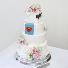 Торт в стиле кино на свадьбу