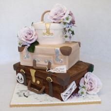 Торт Свадебный чемодан