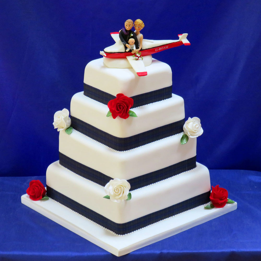 Свадебный торт полет на самолете