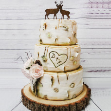 Свадебный торт Береза