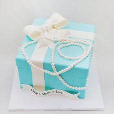 Свадебный торт цвета Тиффани