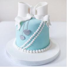 Маленький торт на свадьбу Тиффани